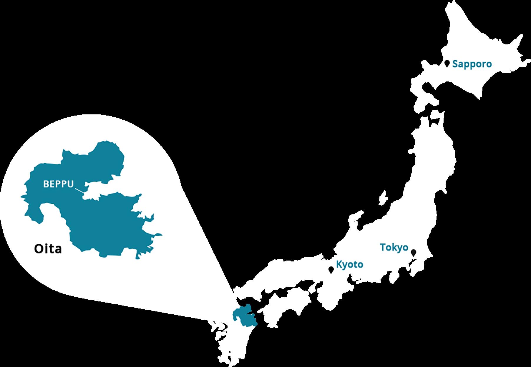 JAPAN HOT SPRING BEPPU
