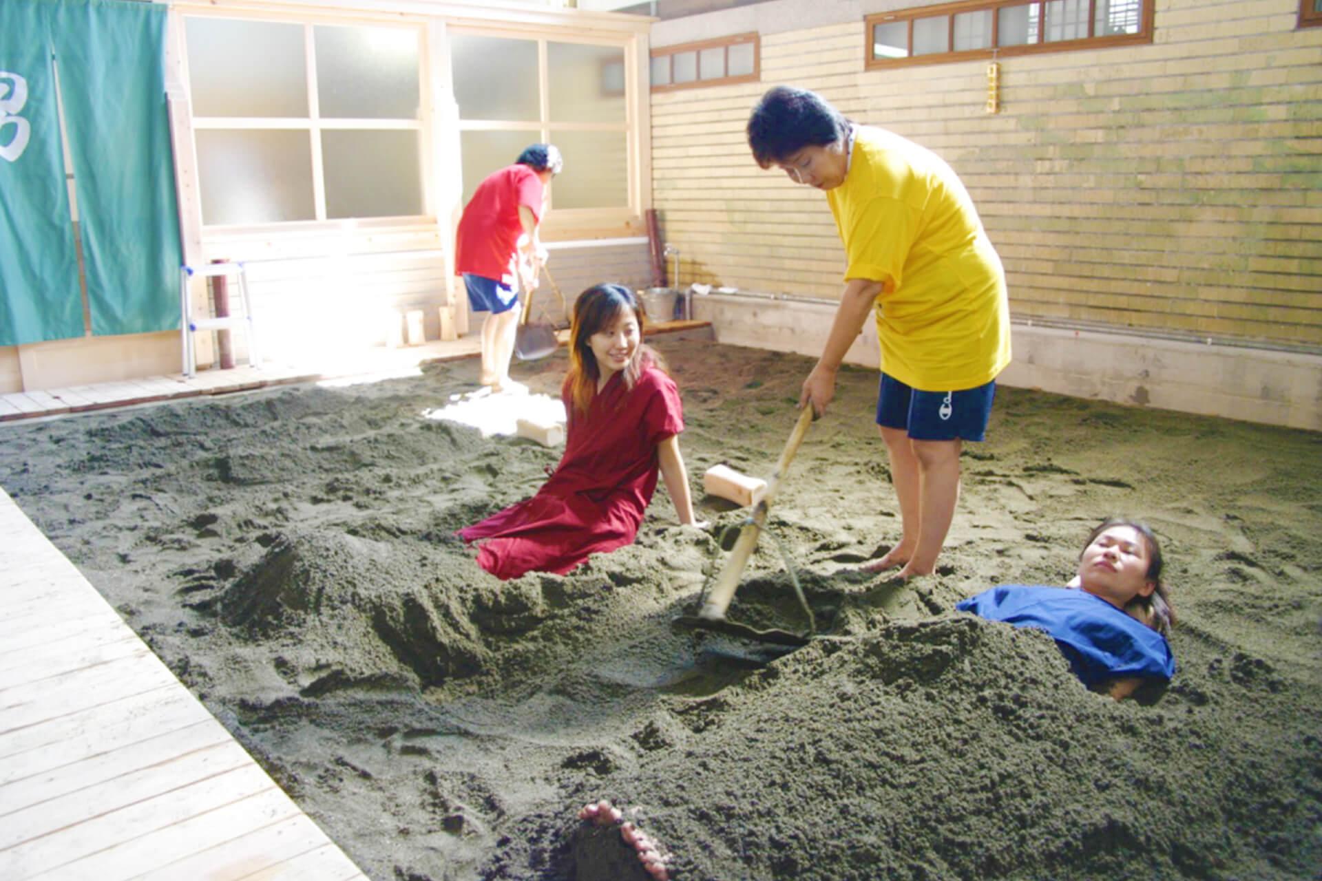 takegawara sand bath