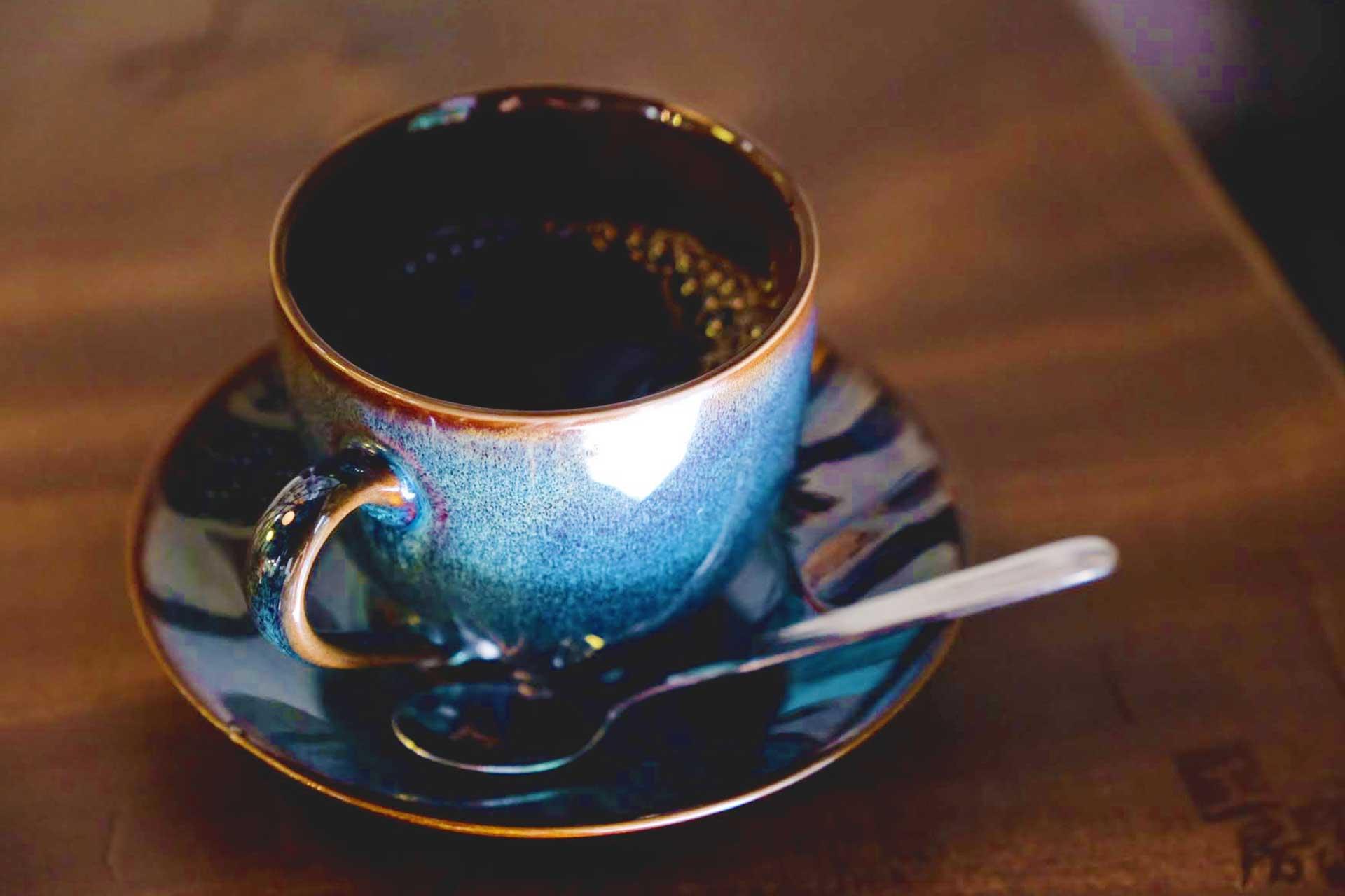 onsen coffee in Beppu