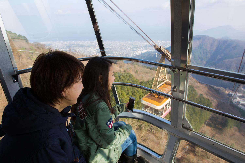 ropeway beppu onsen