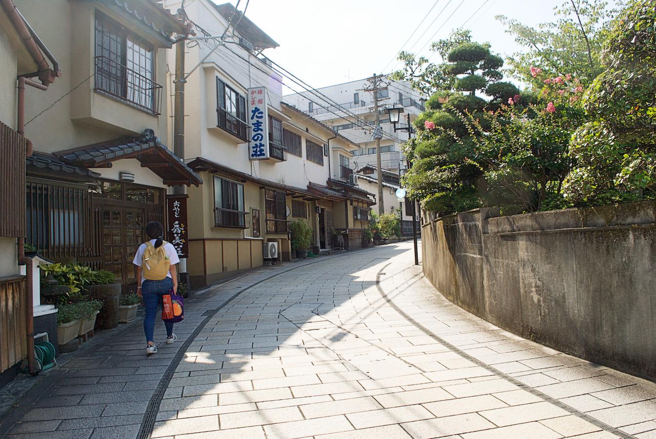Beppu Kannawa street
